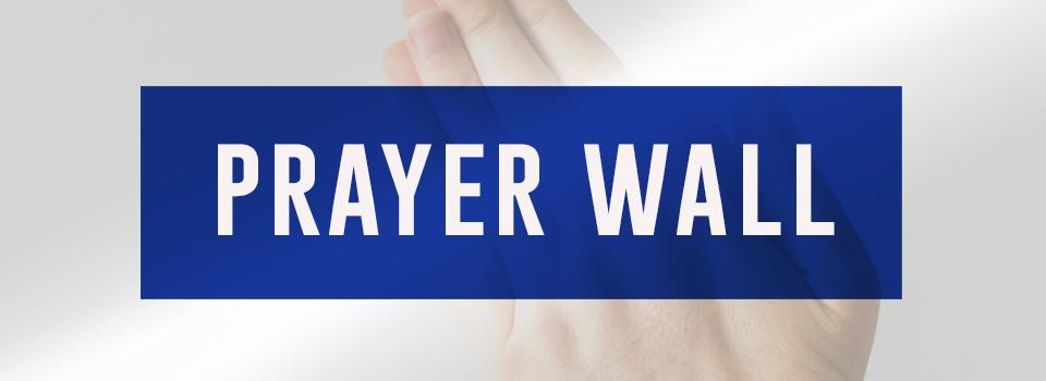 Prayer Wall Banner Image