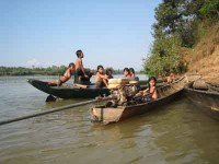 Global Outreach Cambodia Kids Boats