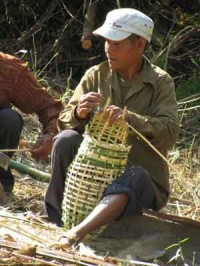 Global Outreach Cambodia Weaving