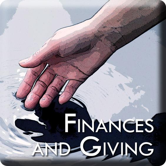 General information about finances at Bethel